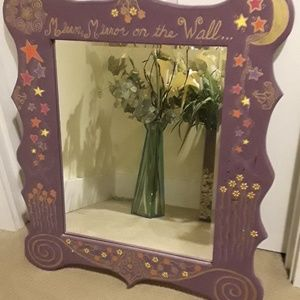 Other - Hand painted square mirror